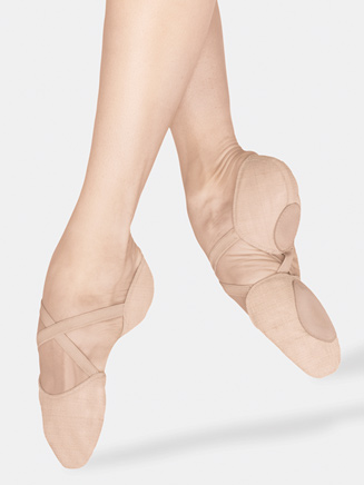 """Elastosplit X"" Adult Split-Sole Canvas Ballet Slipper - Style No ES0251L"