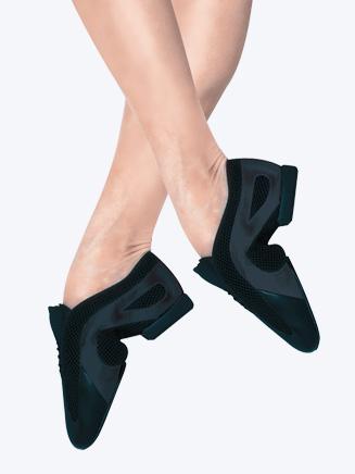 Bloch Slipstream Adult Mesh Arch Slip-On Jazz Shoe