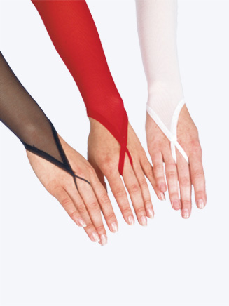 Long Mesh Gloves By Body Wrappers - Style No G100