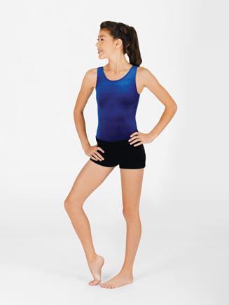 Adult Velvet Dance Short - Style No G507