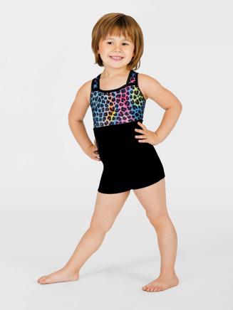 Perfect Balance Child Animal Gymnastic Biketard