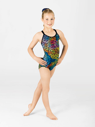 Child Animal Gymnastic Camisole Leotard - Style No G518C
