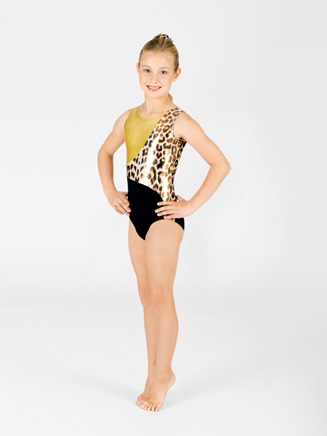 Child Fierce Gymnastic Tank Leotard - Style No G519C
