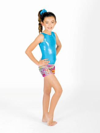 Child Groovy Gymnastic Short - Style No G527C