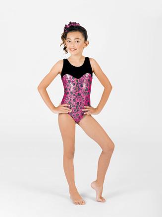Perfect Balance Child Sweetheart Gymnastic Scoop Neck Tank Leotard