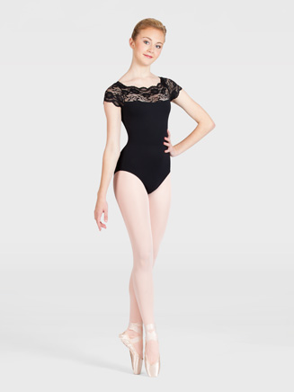 Adult Short Sleeve Dance Leotard - Style No GM102
