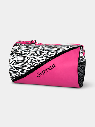 "Zebra ""Gymnast"" Duffle Bag - Style No GYM03"