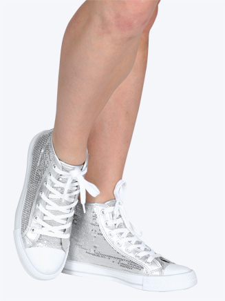 Sequin High Top Sneaker - Style No HIDISCO
