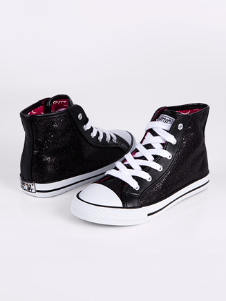 Child Glitter High Top Sneaker - Style No HIDISCOG