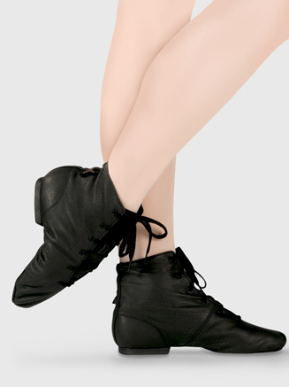 "Leather Adult ""Soho"" Jazz Boot - Style No JB1L"