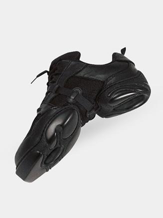 Dance Class Mesh Leather Adult Dance Sneaker