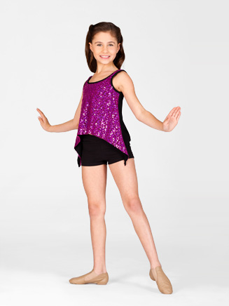 Child Sequin Front Top - Style No K5080