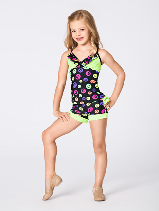 Duck Crossing Child Ruffle Camisole Top