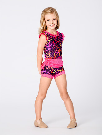 Child Ruffle Short - Style No K5093