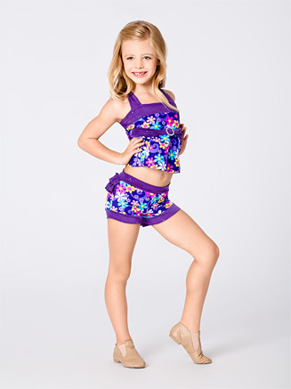Child Flower Power Top - Style No K5096