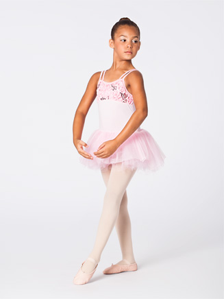 Duck Crossing Child Camisole Dress