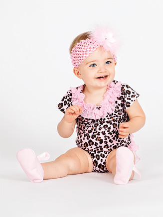Toddler Animal Print Ruffle Butt Infant Bodysuit - Style No L2793