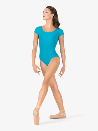 Adult Essential Short Sleeve Leotard - Style No L5602