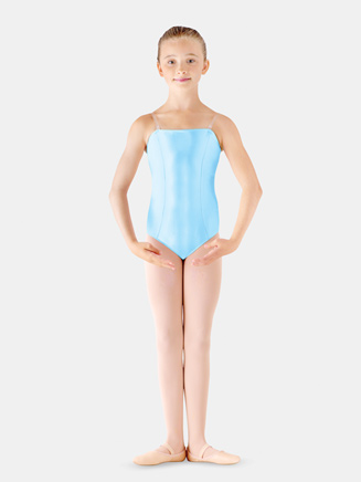 Girls Camisole Satin Basic Leotard - Style No LD135CS