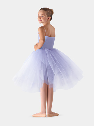 "Girls Firm Tulle 20"" Juliet Skirt - Style No LD136CT"