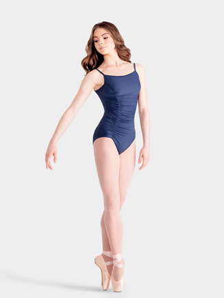 Adult Camisole Leotard with Rouching - Style No M2031LM