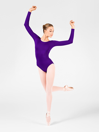 Adult Long Sleeve Leotard - Style No M2102
