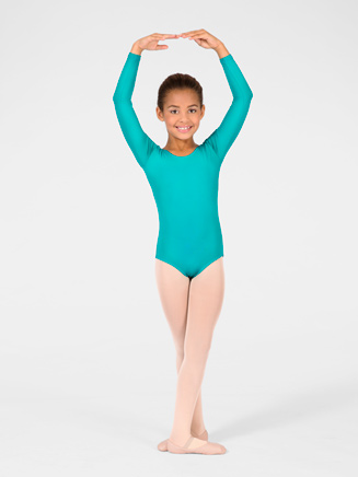 Child Long Sleeve Leotard - Style No M2102C