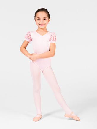 Child Puff Sleeve Leotard - Style No M2159C