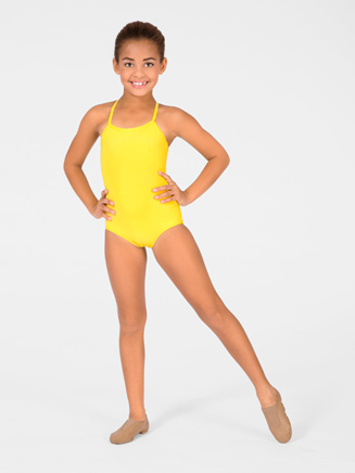 Child Drape Back Leotard - Style No M2622C