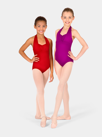 Child Double Halter Leotard - Style No M2650C