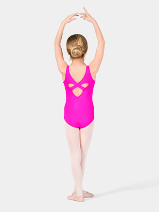 Girls Tank Leotard with Heart Back - Style No M2786C
