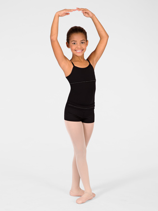 Child Rhinestone Camisole Leotard - Style No M2906C