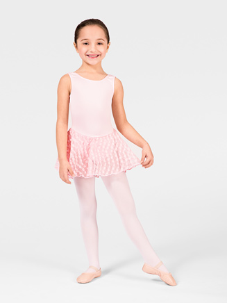 Child Bow Back Skirted Leotard - Style No M4365C