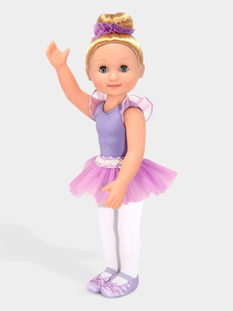 "14"" Blonde Ballerina Doll - Style No M4886"