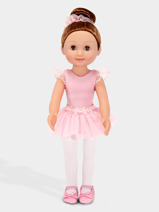 Brunette Ballerina Doll - Style No M4887