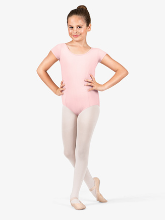 Girls Cap Sleeve Dance Leotard - Style No M515C