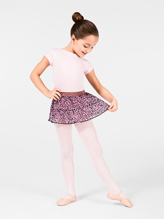Child Pull On Tiered Skirt - Style No M5683C