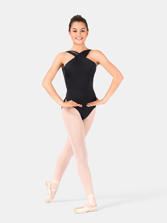 Jozette Camisole Leotard With Rope Detail - Style No MJ7128
