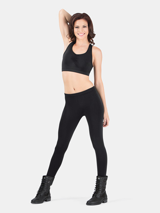 Lightweight Adult Capri Leggings With Inside Seam - Style No MPC02