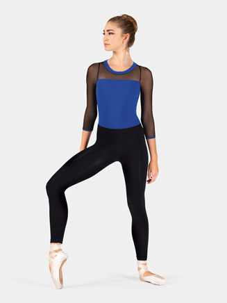 Mix-Its Lightweight Adult Ankle Leggings With Inside Seam