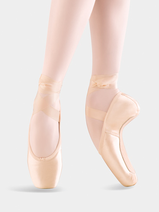 Satin Whisper Pointe Shoe - Style No MS140