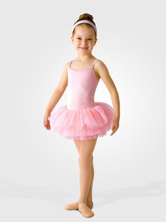 Mirella Child Diamante Sparkle Tutu Skirt