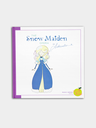 Snow Maiden Storybook - Style No MSNOWSTORY
