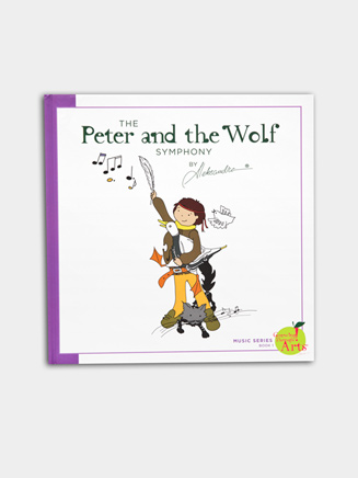 Peter and the Wolf Storybook - Style No MWOLFSTORY