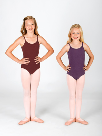 Child Cotton Blend Camisole Leotard - Style No N5500C