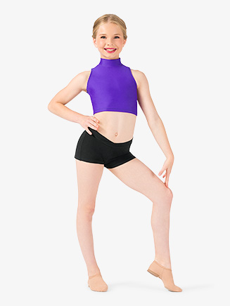 Child V-Waist Dance Short - Style No N5505C