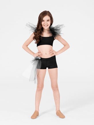 Child Side Bustle Tutu Short - Style No N7083C