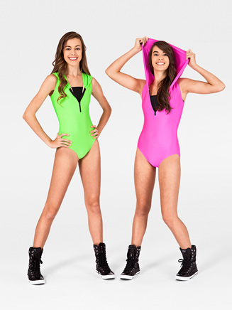 Adult Hooded Tank Leotard - Style No N7087
