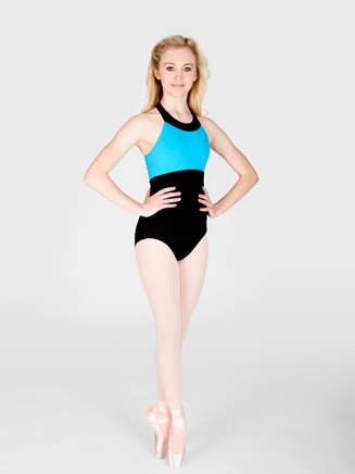 Adult Clover Strap Back Tank Dance Leotard - Style No N8418
