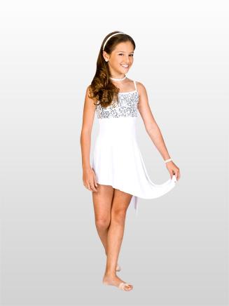Natalie Child Asymmetrical Camisole Dress